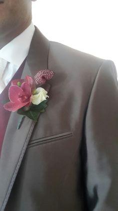 Bruidegomcorsage #bloemart