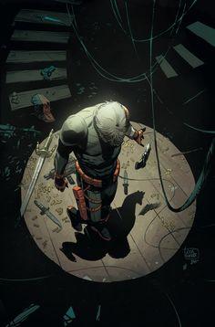 Deathstroke Vs Deadpool, Deathstroke The Terminator, Deadshot, Daredevil, Marvel Dc, Marvel Comics, Comic Book Artists, Comic Books Art, Comic Art