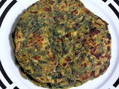 Spinach or Palak Paratha/bread