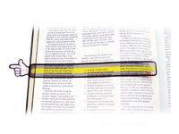 Leesstrip aanwijzer De leesstrip met aanwijsvinger is ideaal voor leerlingen die leren van links naar rechts en van boven naar beneden te lezen. Set bestaat uit 12 strips van 3,5 cm × 25 cm. Strips, Tableware, Reading, Dinnerware, Dishes, Place Settings