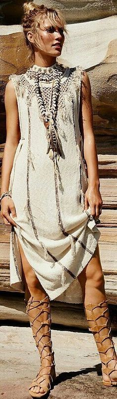 20 + Bohemian Dress :: Trending Outfits ❤️  Pasaboho :: Boho chic boho style hippie chic bohème vibe gypsy fashion indie folk the 90s ❤️  CLOTHING & APPAREL STORE