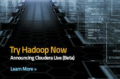Try Hadoop with Cloudera Live
