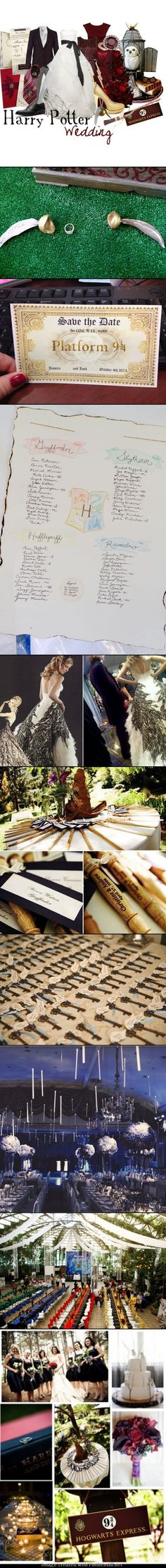 Harry Potter wedding.