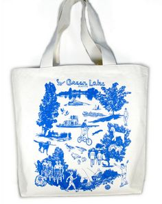 #Tote #Green #Lake #local #locavore #MadeinUSA #seattle #fashion #oliotto #tourist #souvenir #trip #visit #pack #gift #vacation #bag
