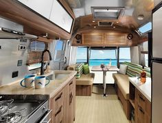 The Airstream Tommy Bahama Special Edition Travel Trailer offers road travel enthusiasts the sleekest, most stylish way to fulfill the dream of pursuing that never-ending weekend.