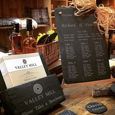 "It doesn't get more Welsh than Welsh slate! Perfect if you want to incorporate ""Wales"" in your wedding. We hand craft favours, keepsakes, tables planners and much more..."