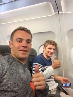 Two of my favourite players in FC Bayern München and Die National Mannschaft