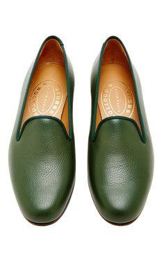 buy popular 6f1cf 8df5c Hunter Pebble Slipper by Stubbs   Wootton for Preorder on Moda Operandi  Sandalias, Zapatos,