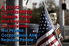 Protect the PEOPLE! Corporations are not people.