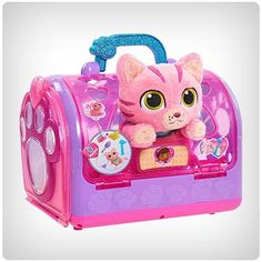 Buy Doc McStuffins: Toy Hospital Pet Carrier - Cat at Mighty Ape NZ. Help your furry friends feel their best with on-the-go checkups! The new Toy Hospital on The Go Pet Vet Carrier from Disney Junior's Doc McStuffins c. Little Girl Toys, Baby Girl Toys, Cool Girl Toys, Toys For Boys, Kids Toys, Doc Mcstuffins Toys, 4 Year Old Girl, Princess Toys, Princess Sofia
