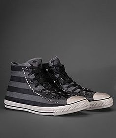 John Varvatos Converse FashionStar - I imagine this played with a striped suit for a casual twist on formal.
