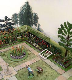 Britains miniature lead garden set 5 Zoo Toys, Farm Toys, Britains Toys, British Garden, Miniture Things, Vintage Love, Old Pictures, Garden Projects, Garden Design