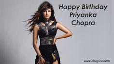 A Most talented Actress #PriyankaChopra Celebrates Her #Birthday Today ! Happy Birthday #PriyankaChopra . Wish Priyanka Chopra at Ciniguru. 1 Pin = 1 Wish .  1 Share = 100 Wish.