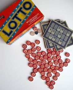 I have a 'thing' for Vintage Bingo games!