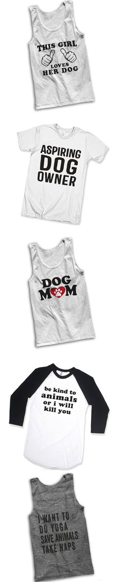 Check out our super cool collection of shirts for animal lovers! From dog moms to people that use their pets as pillows, we've got hundreds of unique designs for you and your all your friends! Check out our 3 way BFF shirts, grab a funny sarcastic tee or find the perfect gift for mom! We're bringing people (and pets!) together through t shirts!