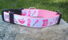 Baking Utensils Dog Collar by WillyWoofs on Etsy, $16.00