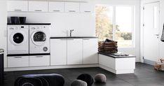 Kodinhoitohuone on kodin ahkerimmin käytetty huone.