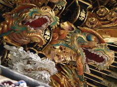 Tosho-Gu ● 東照宮 龍彫刻