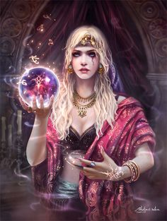 Fantasy Art-The Gypsy
