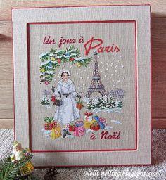 Nelli: Коробка для новогодних игрушек и Les Brodeuses Parisiennes