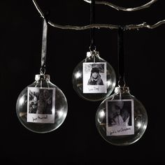 Photo Glass Personalised Christmas Bauble polaroid glass personalised christmas bauble by sophia victoria joy Personalised Bauble, Personalised Christmas Baubles, Personalized Ornaments, Glass Christmas Baubles, Christmas Photos, Homemade Christmas, Christmas Diy, Christmas Bulbs, Christmas Makes