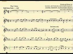 ▶ Radioactive - Imagine Dragons - Violin - Sheet Music, Chords and Vocal - YouTube