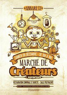 Le marché des créateur à Abbaretz le 6 décembre 2014