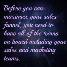 Maximize your salles funnel