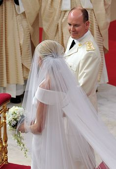 Charlene Wittstock - Monaco Royal Wedding - The Religious Wedding Ceremony