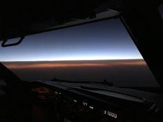 Breaking dawn over Prague