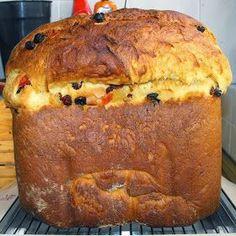Cocinando dulce y salado: Receta de panettone en panificadora Sweet Recipes, Cake Recipes, Dessert Recipes, Panatone Bread, Pan Cookies, Sweet Dough, Sweet Cooking, Decadent Cakes, Peruvian Recipes