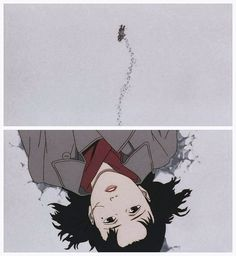 my-nichi: Millennium Actress par Satoshi Kon Manga Art, Manga Anime, Anime Art, Aesthetic Art, Aesthetic Anime, Art Sketches, Art Drawings, Satoshi Kon, Character Art