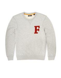 Farah Vintage Sweatshirt with Logo
