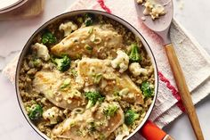 Poulet et quinoa facile à la poêle