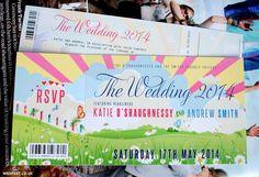 Whimsical Wedding Invitations | WED FEST