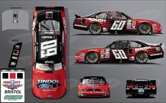 Tindol Ford ROUSH on the hood of the #60 car in the Food City 300 at Bristol Motor Speedway! #ROUSH #XFINITY #ChrisBuescher Check out our ROUSH Mustangs at http://tindolford.com/custom/roush-mustang-for-sale (Photo Credit: Pro Cal)