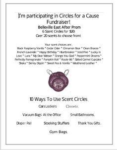 Scentsy Circle Fundraiser