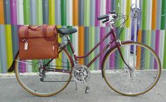 Bobbin Bicycles Straw Pannier at Eleanor's | Stylish Bicycle Accessories for Ladies | Eleanor's