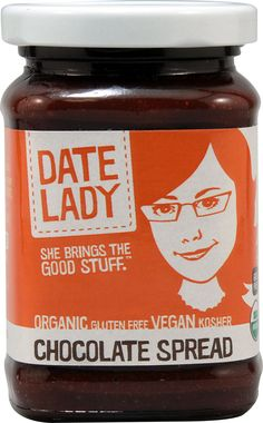 All natural Nutella alternatives: Chocolate Spread at The Date Lady is organic, gluten-free, vegan and kosher. Yet? Still delicious.