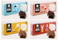 baru chocolate hippos - Love the packaging Beverage Packaging, Food Packaging, Packaging Design, Waitrose Christmas, Food Marketing, Kid Drinks, Cookies For Kids, Chocolate Packaging, Product Packaging