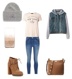 """""""Day in N.Y.C"""" by wasco-martinez on Polyvore featuring MICHAEL Michael Kors, BCBGeneration, Dorothy Perkins, 3x1, claire's and Acne Studios"""
