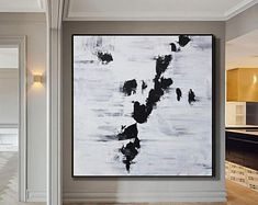 Original Large Abstract paintings By Professionals by WallAbstract Your Paintings, Beautiful Paintings, Landscape Paintings, Large Artwork, Original Artwork, Original Paintings, Home Design, Design Expo, Abstract Art