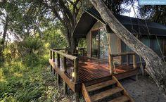 Luxury Safari Lodge Rental Botswana | Okavango Delta Glamping