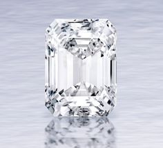 'The Perfect 100.20 Carat Diamond' - The diamond originated from a 200-carat rough diamond mined by De Beers in southern Africa. The rough was studied, planned, and cut for over one year to yield the final Sotheby's New York - Magnificent Jewels auction