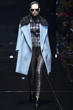 Gucci fw 2013. This is the only look I really liked. The other stuff was too 80's for me.