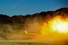 Flame On by United States Marine Corps Official Page Military Guns, Military Vehicles, Fire Powers, Battle Tank, Big Guns, Marine Corps, Usmc, Us Army, Armed Forces
