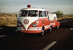 VW & teardrop