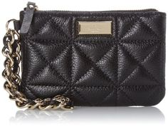 Women's Clutch Handbags - Kate Spade New York Sedgewick Place Bee Clutch Black One Size -- Read more reviews of the product by visiting the link on the image.