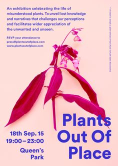 Plants out of Place, London Design Festival 2015 - Read more on http://www.artsthread.com/blog/ldf15-plants-out-of-place/