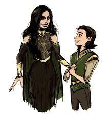 Hela and Loki